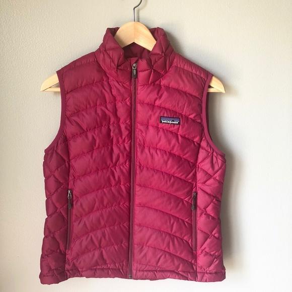 Patagonia Jackets & Blazers - Patagonia Magenta Women's Vest